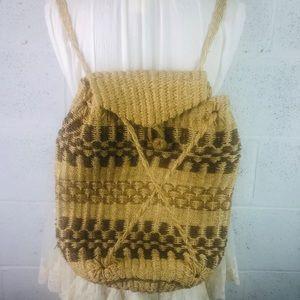 Straw/Raffia Backpack
